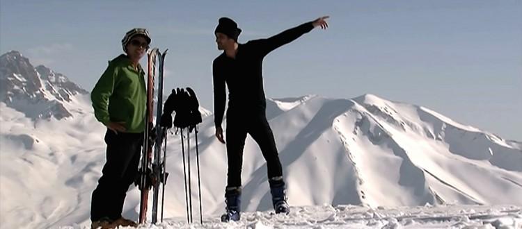 ski au cachemire