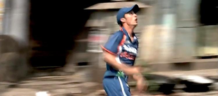 cricket dans les rue de Calcutta