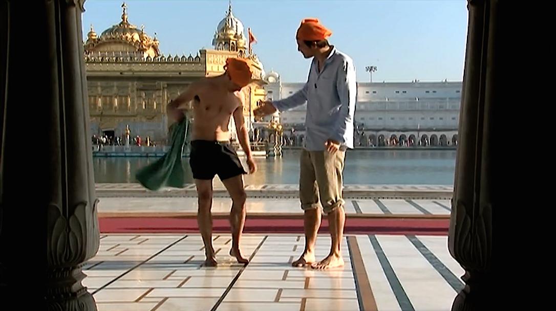les sikhs à amritsar